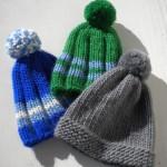 Tombe la neige… et les bonnets
