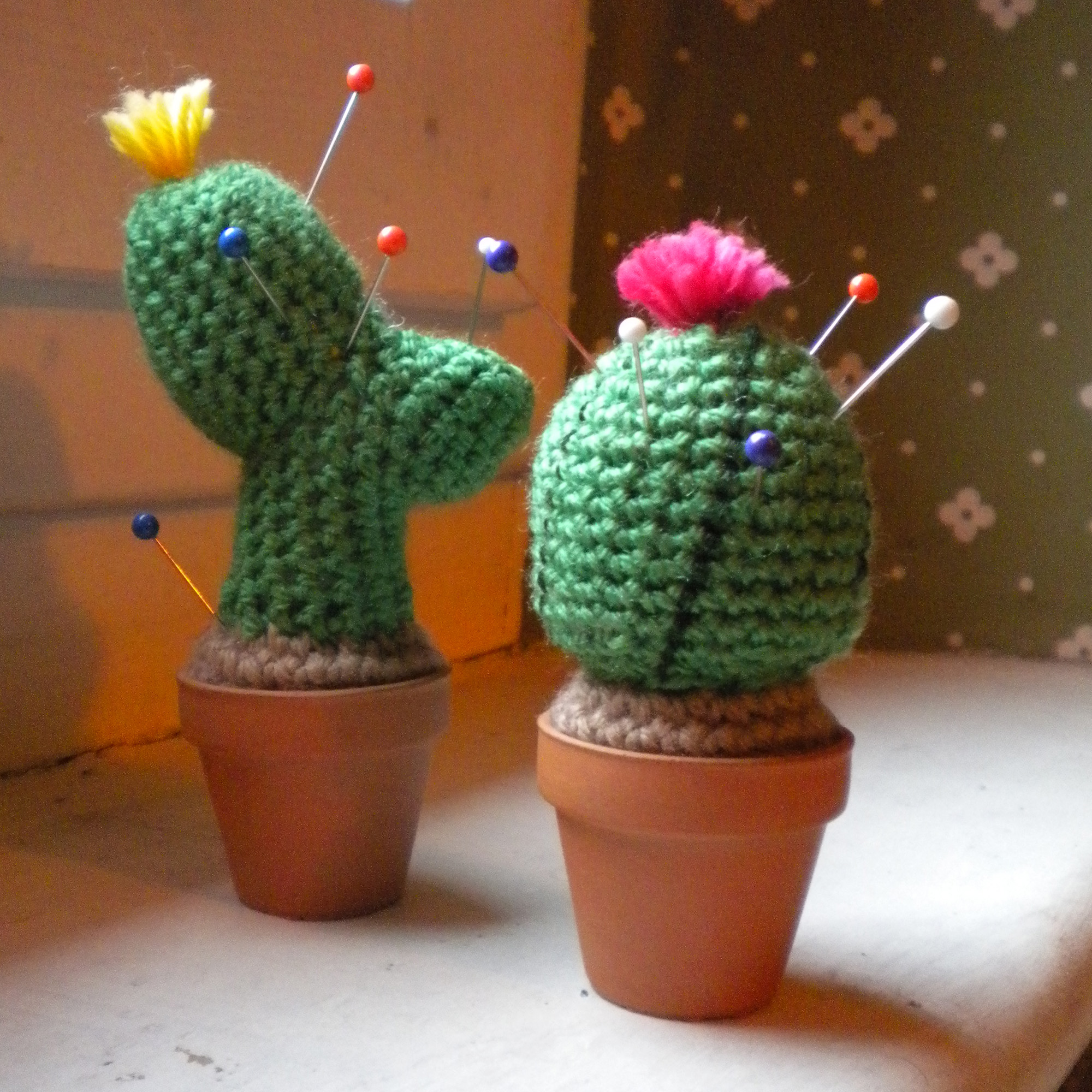 Still Vauriens Les cactus en crochet