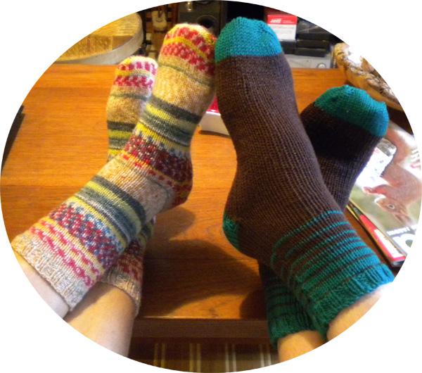 Still vauriens cadeaux de no l chaussettes tricot es avec amour - Chaussettes de noel ...