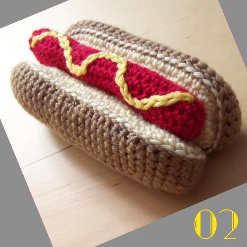 Still Vauriens   Tuto: La dinette en crochet #02 Le Hot-Dog