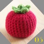 Tuto: La dinette en crochet #05 La tomate