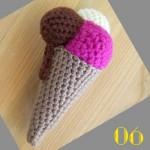 Tuto: La dinette en crochet #06 Le cornet de glace