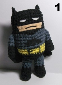 Batman | Crochet batman, Crochet dolls, Crochet projects | 300x220