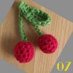Tuto: La dinette en crochet #07 Les cerises
