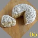 Tuto: La dinette en crochet #08 Le camembert