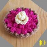 Tuto: La dinette en crochet #10 La tartelette aux framboises