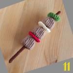 Tuto: La dinette en crochet #11 La brochette