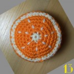 Tuto: La dinette en crochet #13 L'orange