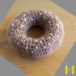 Tuto: La dinette en crochet #14 Le bagel