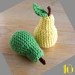 Tuto: La dinette en crochet #18 Les poires