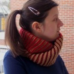Point brioche avec le Newsprint Cowl