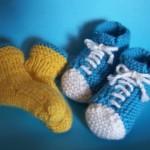 Chaussons de bébés pour petits sportifs