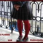 Tuto: jupe plissée