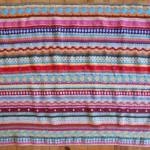 Couverture au crochet *As-we-go stripey blanket* #05