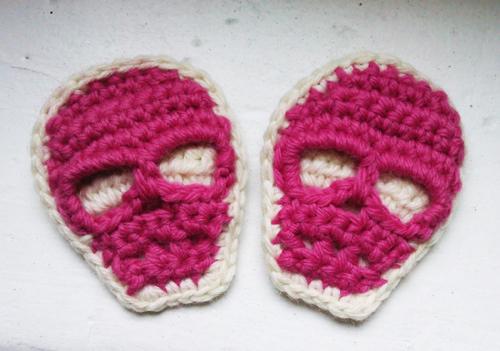 patron tricot tete de mort