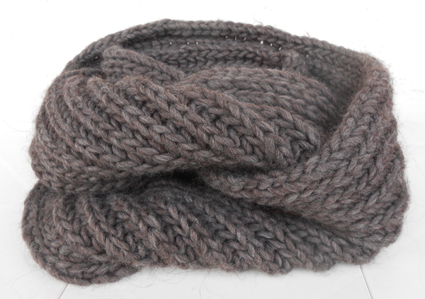 patron tricot snood