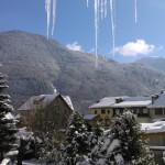 Un maxi snood contre la neige et le froid (+ un mini patron)