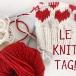 Le Knit Tag!