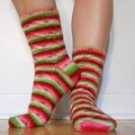 Les chaussettes pastèques et la légende de l'écheveau voyageur