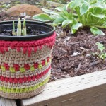 Cache-pot en crochet (patron & astuces)