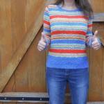 Mon premier pull où comment j'aurais pu arrêter le tricot pour toujours…