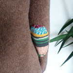 Knit repair: Elbow Patches